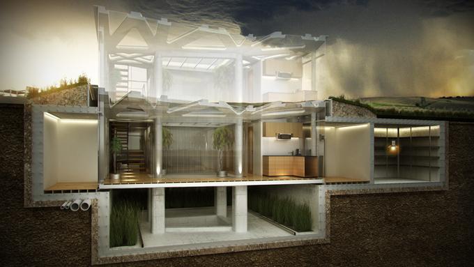 Tornado resistant homes