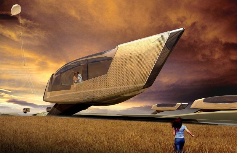 10 Design - Erupting Stability: Tornado Proof House