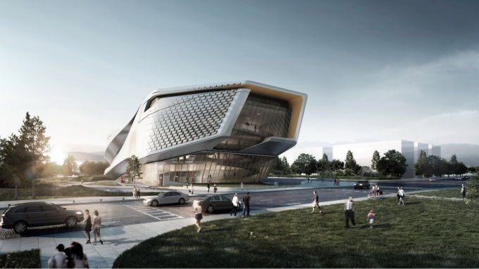 10 Design A New Civic Sculptural Museum Of Urban