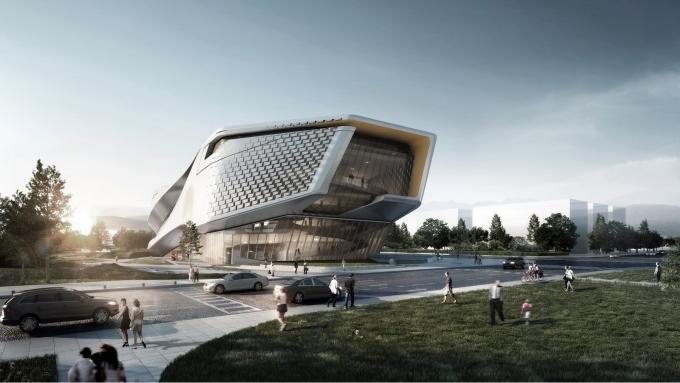 10 Design A New Civic Sculptural Museum Of Urban
