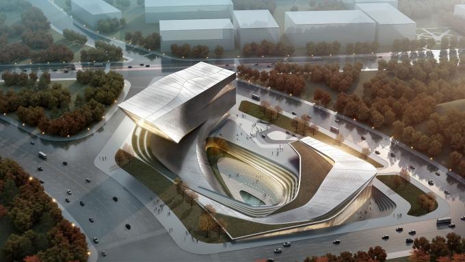 io (拾稼设计) 大连公共图书馆建筑设计方案 荣获美国建筑师协会 2011
