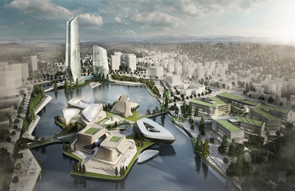 IO has won the international design competitions for three separate projects in the Jinwan Aviation City of Zhuhai