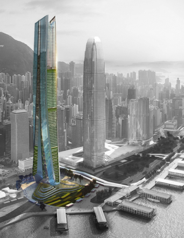 Vertical Farm Centre | An Ecological Vision for Hong Kong