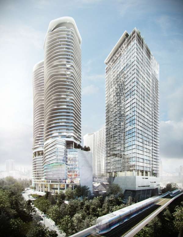 IO has Led the Architecture for one of the Most Successful Premium Integrated Developments in the Heart of Kuala Lumpur, KL Gateway