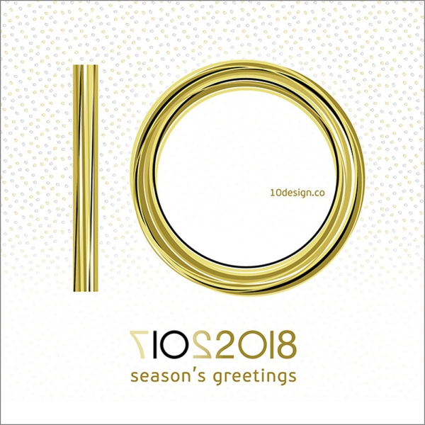 Season's greetings and a happy 2018 from 10 DESIGN