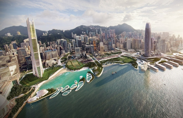 IO Redefines Hong Kong's Waterfront