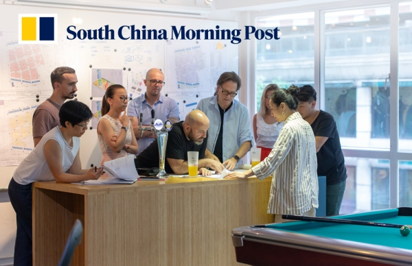 SCMP | 10 DESIGN's Hong Kong Studio