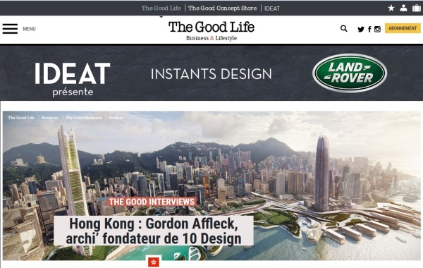 The Good Life Fr. | Interview of Gordon Affleck, Design Partner at 10 DESIGN