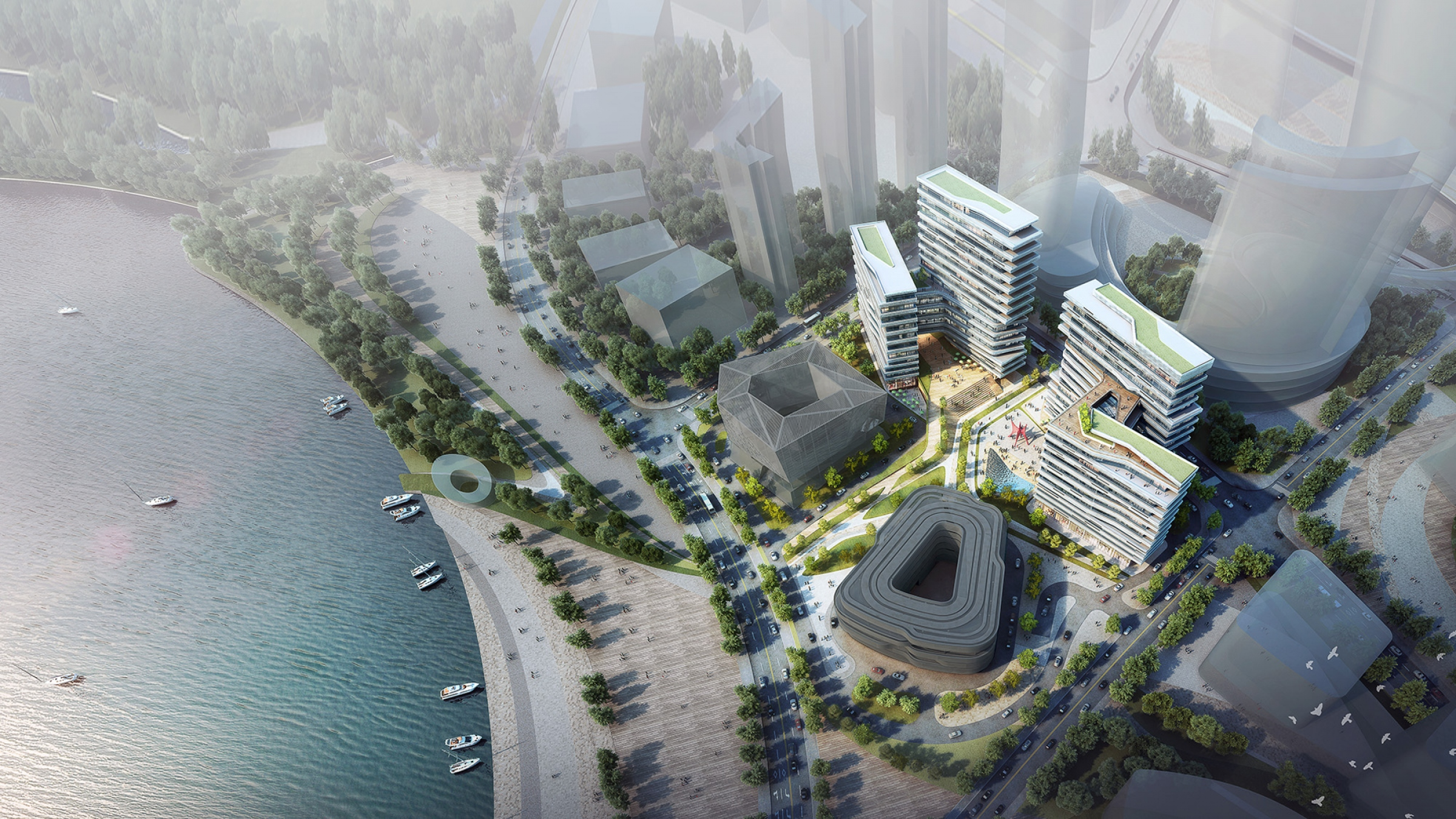 10 Design - High Technology District Commercial Hub